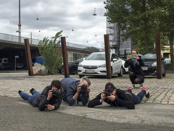 Photography lessons for the team at ICES in Copenhagen