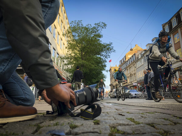 Photographing Bikes in Copenhagen