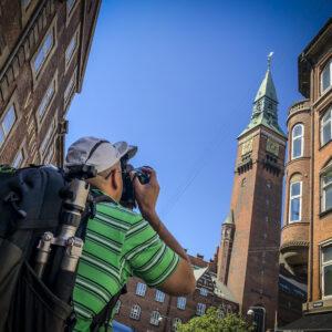 Photographing Copenhagen City Hall